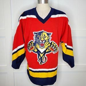 Vintage Starter Hockey Jersey Florida Panthers